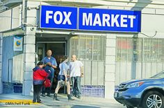 Fox Market The Tenderloin,  San Francisco By Mitchell Funk  www,mitchellfunk.com