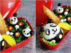 16 Cutest Panda Themed Bento Meals
