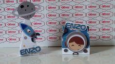 Personalizados Astronauta by Oliver Festas Infantis ☺