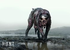 ArtStation - Hunt Showdown - Hellhound, Artem Shumnik
