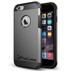 iPhone 6 Case-iProCase-Hard-Shock-Proof-Luxury-Designer Protection For Your Apple Phone-Stylish Design with back case cover and logo-For Guys and Girls-Perfect Custom Fit For Your Impressive Device-Protect Your Investment-5 Bestselling Colors. Advanced sh