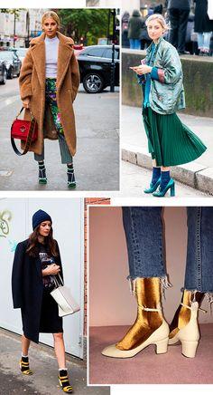 sandalia - meia - looks - trend - como usar