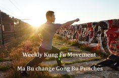 This video shares with you a Shaolin Kung Fu foundation movement, Ma Bu change Gong Bu Punches. it's one of most important movement in Kung Fu. Shaolin Kung Fu, Chinese Martial Arts, Qigong, Free Training, Punch, Change, World, Youtube, Life Pictures