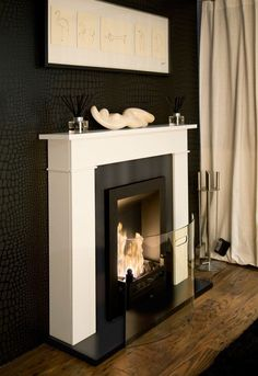 An Alternative Eco-friendly Fireplace - Bioethanol Fires - The Interior Editor | Little to no installation this environmentally friendly fire is great for rentals or living areas that dont have a chimney or flue. Easy to use and no maintenance make it a winner on so many levels when compared to more tradtional fireplaces. #fireplace #ecofriendly #rentals, #fires