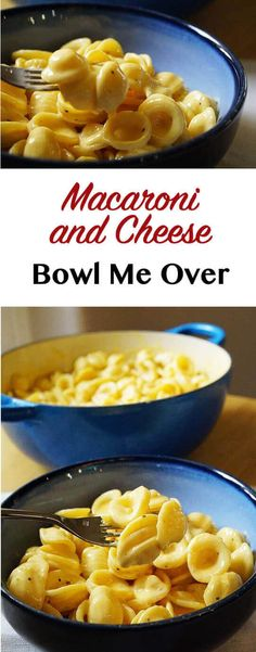 Macaroni and Cheese - comfort food and cheesy goodness! There's more polished & healthier versions but I'm keeping it easy & delish!
