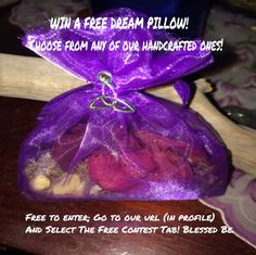 WIN A FREE DREAM PILLOW! #wicca #witch #witchesoninstagram #pagan #spell #dream #wiccan