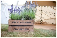 A Traditional Countryside Wedding with a Fabric Inspired Theme - The Reception