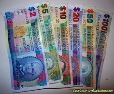 Barbados Currency, they have coins too