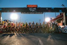 It was a beautiful night for racing at the Blue Dome Criterium, the first round at Tulsa Tough.
