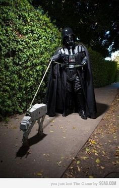 Sacando a pasear al AT-AT