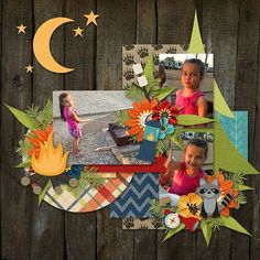 Layout using {The Great Outddors} Digital Scrapbook Kit by Melissa Bennett Designs available at Sweet Shoppe Designs http://www.sweetshoppedesigns.com//sweetshoppe/product.php?productid=31207&cat=757&page=2 #melissabennettdesigns
