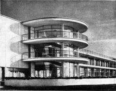 The De La Warr Pavilion Bexhill-on-Sea, Sussex, England Erich Mendelsohn, Serge Chermayeff ,1934