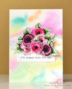 Painted Flowers - Altenew  - 10