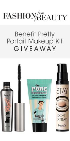 Get in to win with this Benefit Pretty Parfait Makeup Kit giveaway! #competition #beauty