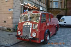 Fire Engine Appliances KSF 404 Dennis F8 -Scottish Fire and Rescue Heritage Trust Appliance – Museum & Heritage Centre Greenock