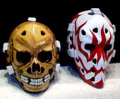 Vintage Goalie Mask Discussion Page :: Vintage Mask Gallery! Hockey Goalie Gear, Hockey Helmet, Football Gear, Hockey Stuff, Hockey Mom, Ice Hockey, Native American Humor, Goalie Mask, Star Wars