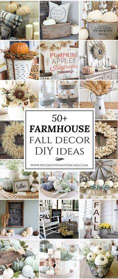 50 Farmhouse Fall Decor Ideas