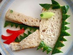 Sorieya's Homemade Cooking: Fun sandwiches I made for my kids