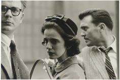 "secretcinema1: ""Woman on Street with Two Men, New York, 1956, Diane Arbus """