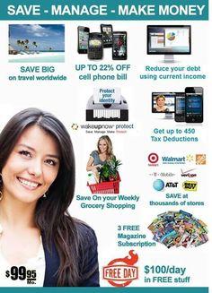 Wakeupnow es la compañia que te paga por recomendar sus descuentos y servicios, gana 600dlls mensuales solo invitando a 3 amigos, si te interesa ganar dinero extra con gusto te ayudo con la info!