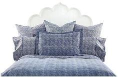 John Robshaw Bundi Indigo Bed Collection   Free Shipping