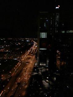 Las torres y Pº Castellana, no me digais q no es una vista preciosa #Espacio33