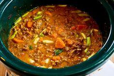 Kalyn's Kitchen®: CrockPot Sweet and Spicy Ground Turkey and Sweet Potato Stew Recipe with Coconut Milk
