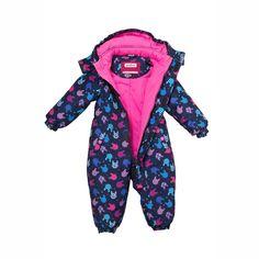 картинка Весенний комбинезон для малышей Premont «Плюшевое настроение» S18101 DARK BLUE магазин Одежда+ являющийся официальным дистрибьютором в России