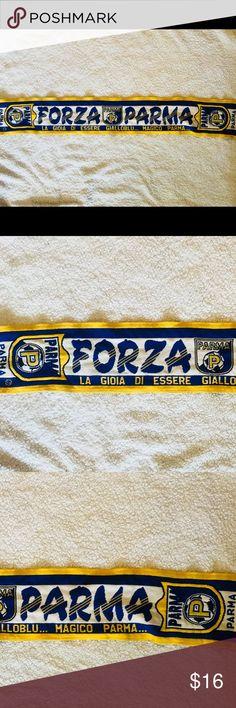 Parma Calcio 1913 Team scarf Parma Calcio 1913  Forza Parma Team scarf  Italian Serie B Accessories Scarves