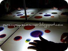 Para mi peque con amor: La mesa de luz... ¡excelente recurso!