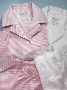 ben silver:  ladies 170's cropped pajamas