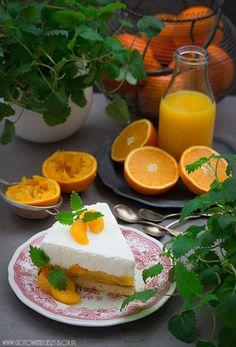 Ciasto intensywnie pomarańczowe (torcik pomarańczowy)