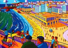 Biarritz - Erwin Dazelle Fair Grounds, France, Fun, Painting, Travel, Cake, Countries, Basque Country, Viajes