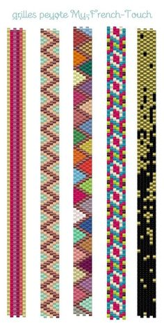 Mes grilles pour vous – My-french-touch bijoux made in France mini manchettes my-french-touch Source by edacorekci The post Mes grilles pour vous – My-french-touch bijoux made in France appeared first on DIY Shares.Free Bead Patterns and Ideas : Loom Bracelet Patterns, Peyote Stitch Patterns, Seed Bead Patterns, Bead Loom Bracelets, Beaded Jewelry Patterns, Peyote Beading Patterns, Art Patterns, Painting Patterns, Loom Bracelets