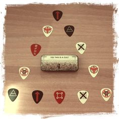 My Mars Guitar Picks Triad