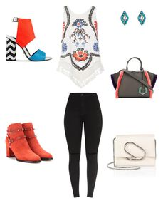 """""""Untitled #304"""" by selise-miles on Polyvore featuring Accessorize, River Island, Valentino, Kat Maconie, Fendi and 3.1 Phillip Lim"""