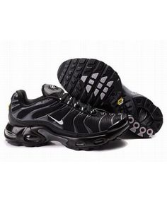 Mens Nike Air Max TN Black Grey Trainer