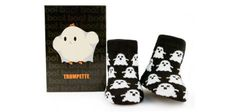 Trumpette's Boo! socks are flippin' adorable. And only three bucks.