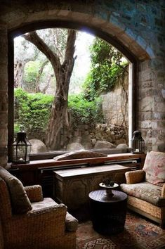 Stunning Home Decor DIY - Eye Catching ideas to build a jaw dropping rustic cozy home decor reading nooks . Amazing suggestions shared on this wonderful date 20181129 , Creative Post 8964877848 Window View, Through The Window, Architecture, Windows And Doors, My Dream Home, Interior And Exterior, Interior Design, My House, Beautiful Places