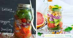 Here At Healthy Holistic Living, we search the web for great health content to share with you. This article was shared with permission from our friends at LiveLoveFruit.com (adsbygoogle = window.adsbygoogle    []).push({}); Mason jars aren't just for canning foods – they make a great way to pack a go-to...More