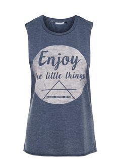 Enjoy the little things! Cooles Shirt, das uns immer wieder daran erinnert.