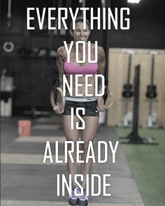 Believe in yourself #CrossFit760