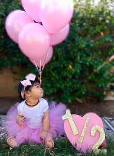 Loveleahfey Insta Half Birthday 6months Halfbirthday Tutu Pink