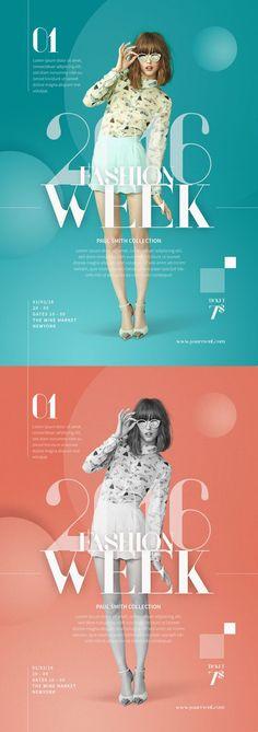 Fashion show flyer design templates 36 ideas Web Design, Media Design, Layout Design, Creative Design, Fashion Graphic Design, Graphic Design Trends, Graphic Design Inspiration, Victoria Fashion Show, Poster Design