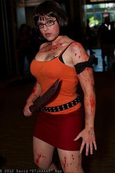 Velma dinkley zombie hunter. Velma's my alter ego. Killing zombies makes her way awesome.