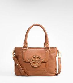 Tory Burch - amanda mini satchel - gorgeous! I want it in blue too!