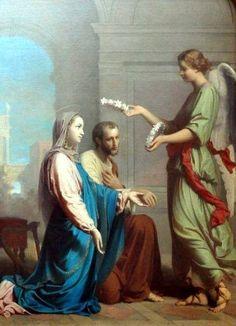 Les fiançailles de la Ste Vierge Marie et de St Joseph