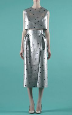 Vika Gazinskaya Spring/Summer 2014 Trunkshow Look 1 on Moda Operandi