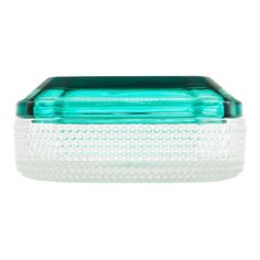 Brilliant is a range of small glass boxes with lids in colors inspired by gems and precious stones. A patterned bottom part creates a camouflage effect while the transparent lid lets you get a peek of what is inside.The Brilliant Boxes are designed to keep you valuable belonging safe, but can easily be used to store anything from jewelry to keys, coins, cotton balls and even the kids' milk teeth. Or treat yourself and your friends to some candy using Brilliant as a decorative bonbonniere.The dur Turquoise And Purple, Green And Purple, Storage Sets, Storage Spaces, Glass Boxes, Box With Lid, Window Sill, 4 H, Dark Red