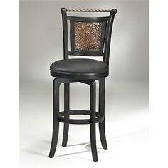 Hillsdale Furniture Norwood Swivel Bar Stool at HSN.com.